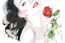 Illustrator David Downton
