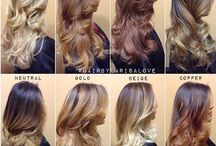 Hair Colors & Styles