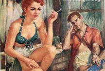 Vintage Pulp Fiction Cover Art