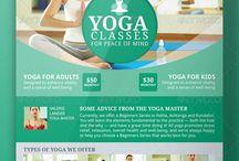 Retreat/Yoga Flyer