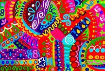 Rainbow colors / I just lóve bright colors ! I hope this pinboard inspires you too !