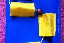Montessori travel bag of tricks ideas