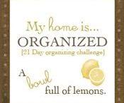 Organize It / by Sherri Lang