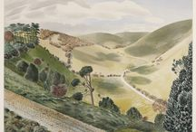Eric Ravilious / A collection of works by Ravilious - quintessentially English painter, printer maker designer