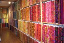 Fabrics / There is so much beautiful fabric in this world, here is a peak.