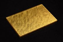 24 Carat Fine Gold Plated Glass surfaces