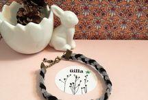 Üilla.design / créations minimalistes : bijoux, bracelets, colliers, décoration, fiole, tissage