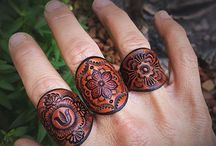 Leather - Rings