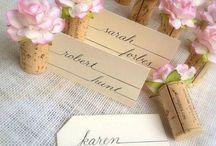 Wedding / Wedding things