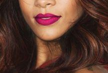 makeup Rihanna