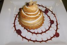 Desserts   Chocolate Rose cakes / We also offer a full line of desserts and petite desserts