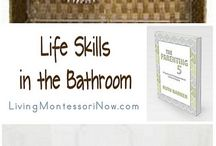 Home/ classroom organisation ideas / Home or school based Montessori set up ideas