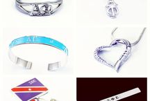 Go Greek / Some pictures of our items for Sororities and Fraternities