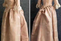 Modified 18th century gowns