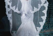 Фата свадебная с кружевом, длинная / Фата свадебная с кружевом, длинная - http://elenmary.io.ua/album733539