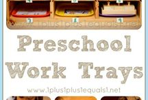 Preschool at Home / by {1plus1plus1} Carisa