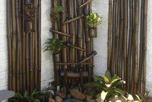 Bambusz díszítés