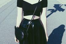 80s Goth fashion