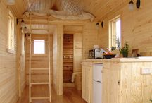 Väike puitmaja ratastel {Tiny house on wheels}