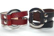 Cool Cuffs / Leather and metal cuffs for men and women