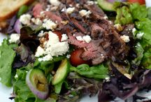 salad. salad. and more salad