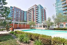 Real Estate Listing - 1019 - 48 Suncrest Blvd RICHMOND HILL, ON / Stunning Clear View! 9' Ceilings,Upgraded Unit In Luxury Thorn Hill Tower'split 2 Bedrooms,Maple Hardwood Flr,Upgraded Kitchen W/Stainless Steel Appliances,Raised Breakfast Bar,Cornice Moulding,Designer Paint.Upgraded Faucet & Shower W/Side Jet,Pot Lights,Closet Organizer,Shows Like Model Hm.Best Condo W/Million $ Facilities.Indoor Pool,Exercise Rm,Sauna,Party-Billiards-Card-Entertainment Rms,Guest Ste,Even Mini Golf Rm.Close To Hwy & Much More