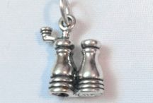 Food Charms / Sterling silver charms that celebrate all things culinary
