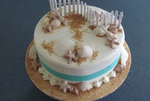 Cakes by A Slice of Heaven / some of the cakes I make, check out my Facebook page for more information / by Nancy Pyzynski