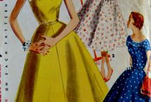 Vintage Flair / Vintage and reproduction patterns, hairstyles, etc