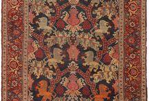 Lion Bidjars / the rare royal rugs