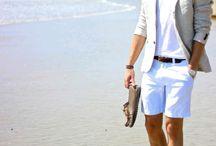 Male Fashion at Beach Location / Male Fashion at Beach Location