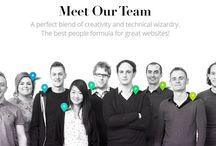 Company/team headshots