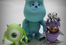 fimo personaggi Disney