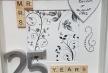 frame box anniversario