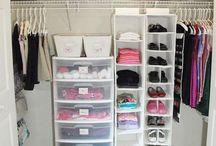 Organização roupas, sapatos e acessórios