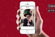 Christmas Selfies / Christmas selfies made with our free app 'tag me' http://me.tggr.co/get