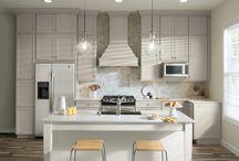 White Zebrine Cabinets