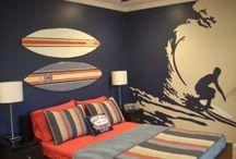 Surfer room / by Tina McNally