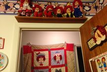 My Raggedy Room / Pictures taken in my ever changing Raggedy Room / by Patti Gardner Norris
