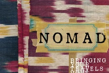 Nomad by Sibella Court / In NOMAD, Sibella Court bestselling author of Etcetera, shows us how to bring our travels home in the most unexpected of ways. The globetrotter and treasure hunter travelled the world, inspired by everything from street signs to household brooms. Sibella's approach is not about re-creating a whole look but adding and subtracting, rearranging and recycling, to make interior spaces that reflect your personality ,experiences & lifestyle. / by Sibella Court