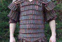 Viking armour.