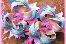 Hair bow ideas / by Christy Macauley Crocker