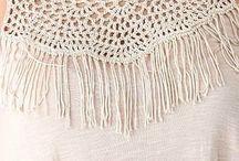 aplicaciones tela y crochet
