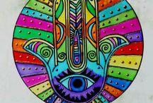 Mandala mano de buda