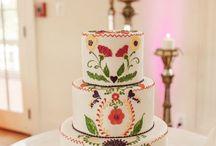 Tarta de boda mexicana