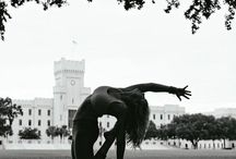 Black and White Mood / Yoga in Black and White