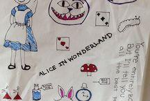 My Drawings / This board is all my drawings  -Ellie