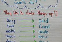 Grammar -ed, -ing verb tense