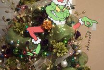 Grinch parade float