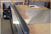 sheet metal bending brake